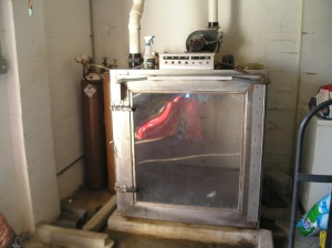 The gas chamber at Henry Co AC Shelter, 2005