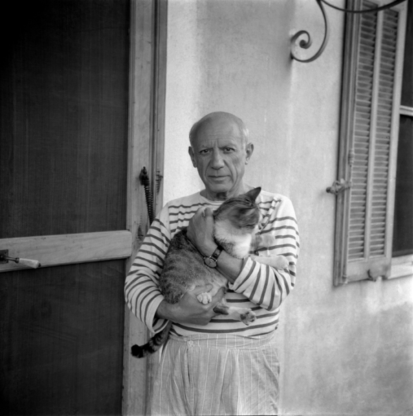 Pablo Picasso, born this day in 1881.