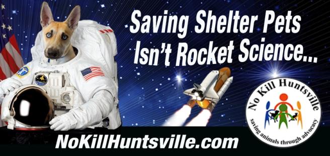 No Kill Shelter astronaut