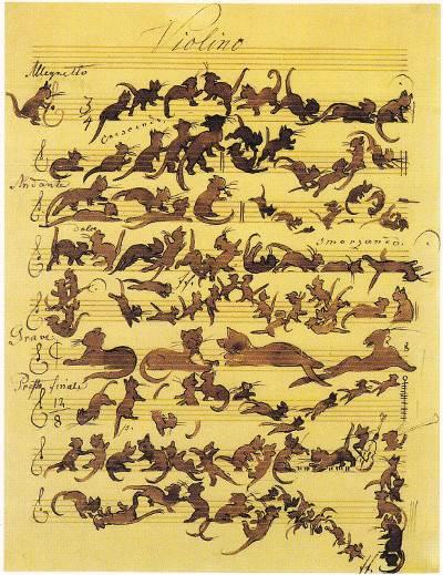 Katzensymphonie by Moritz von Schwind [x]