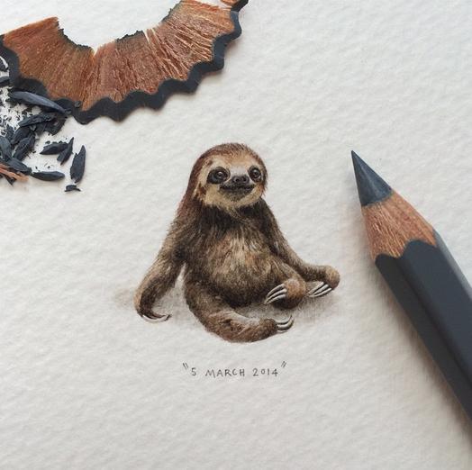 Artist:  Lorraine Loots (via Instagram)