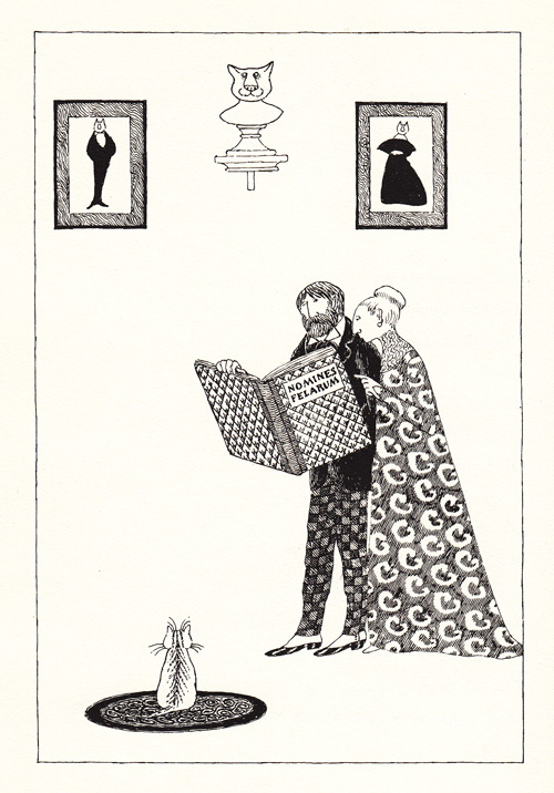 Illustration by Edward Gorey