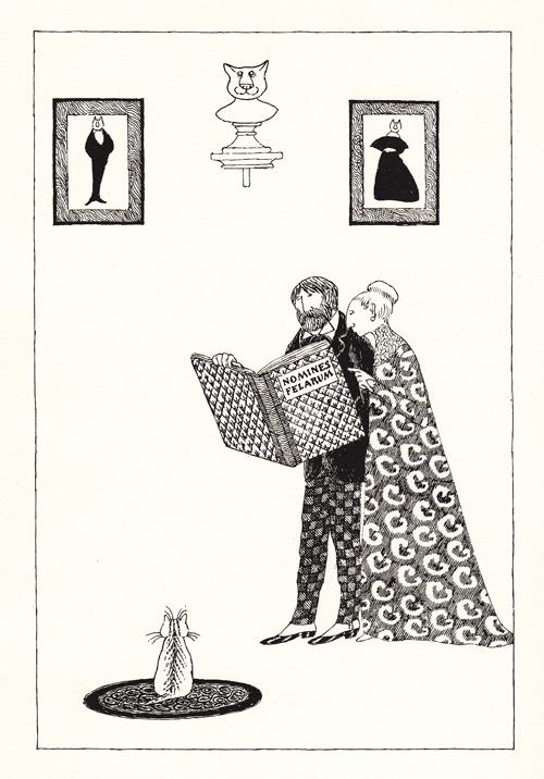 Illustration by Edward Gorey