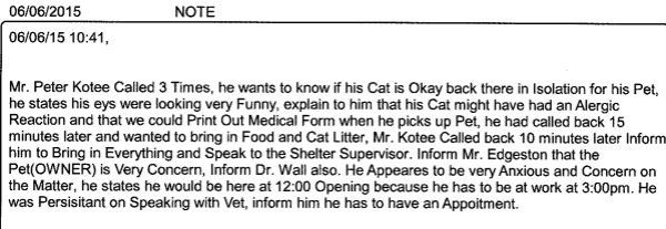 Portion of MAS records for Uptimus, cat ID #278237.