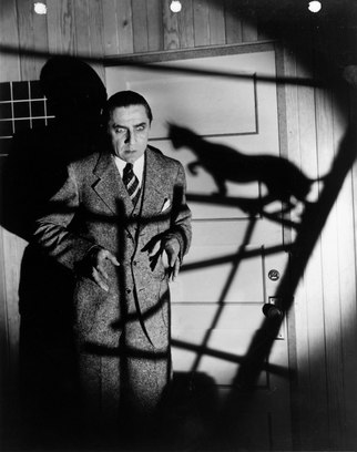 Bela Lugosi in The Black Cat.